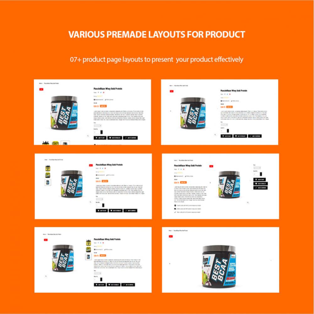 theme - Desporto, Actividades & Viagens - Leo Expert - Sport And Fitness Online Store - 7