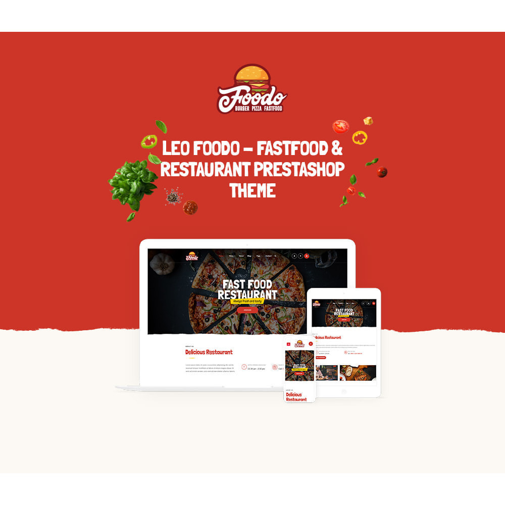 theme - Lebensmittel & Restaurants - Leo Foodo - Fastfood & Restaurant - 1