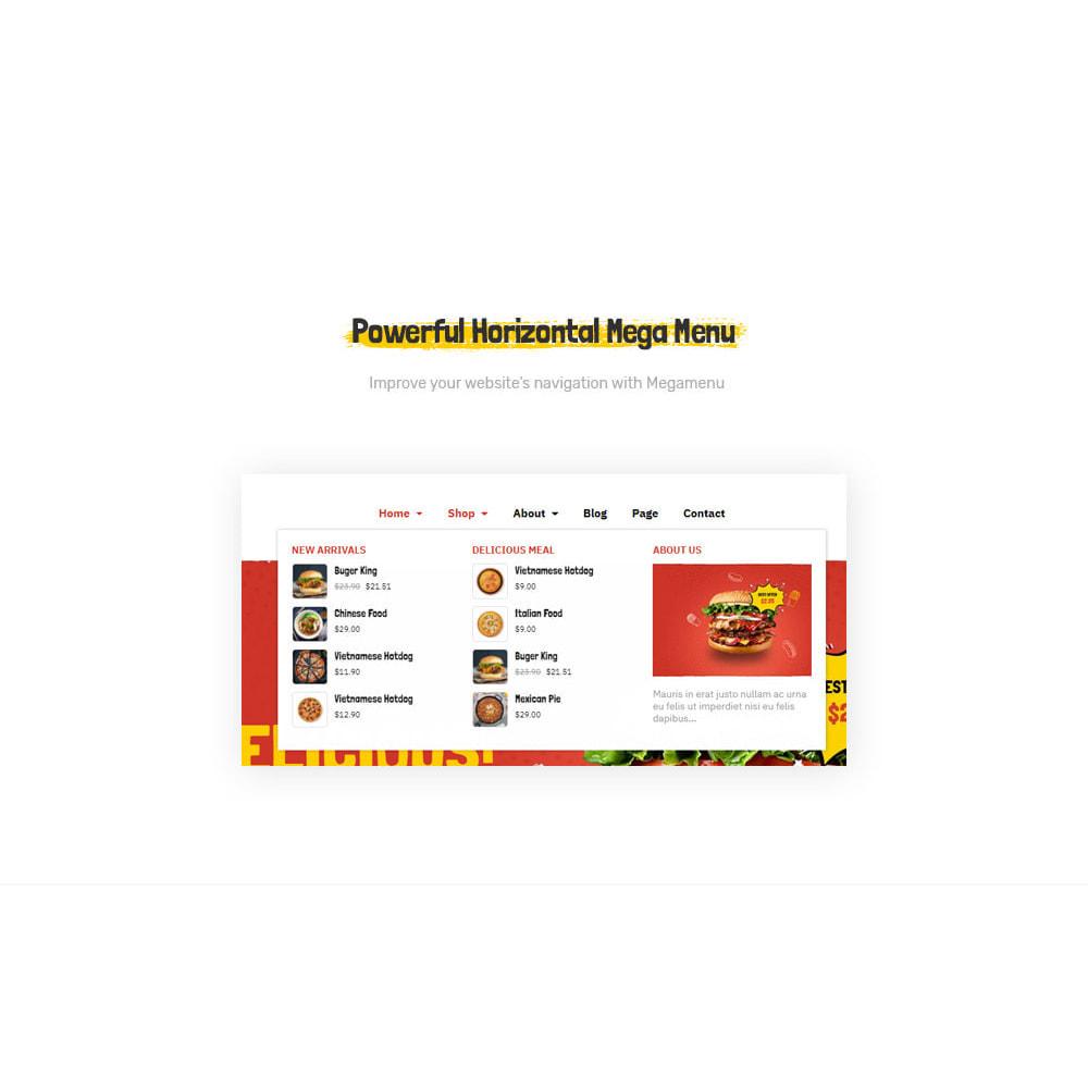 theme - Lebensmittel & Restaurants - Leo Foodo - Fastfood & Restaurant - 5