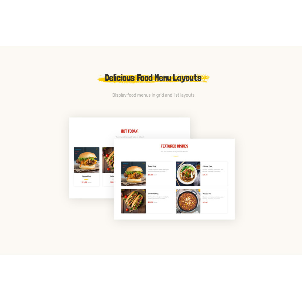 theme - Lebensmittel & Restaurants - Leo Foodo - Fastfood & Restaurant - 6