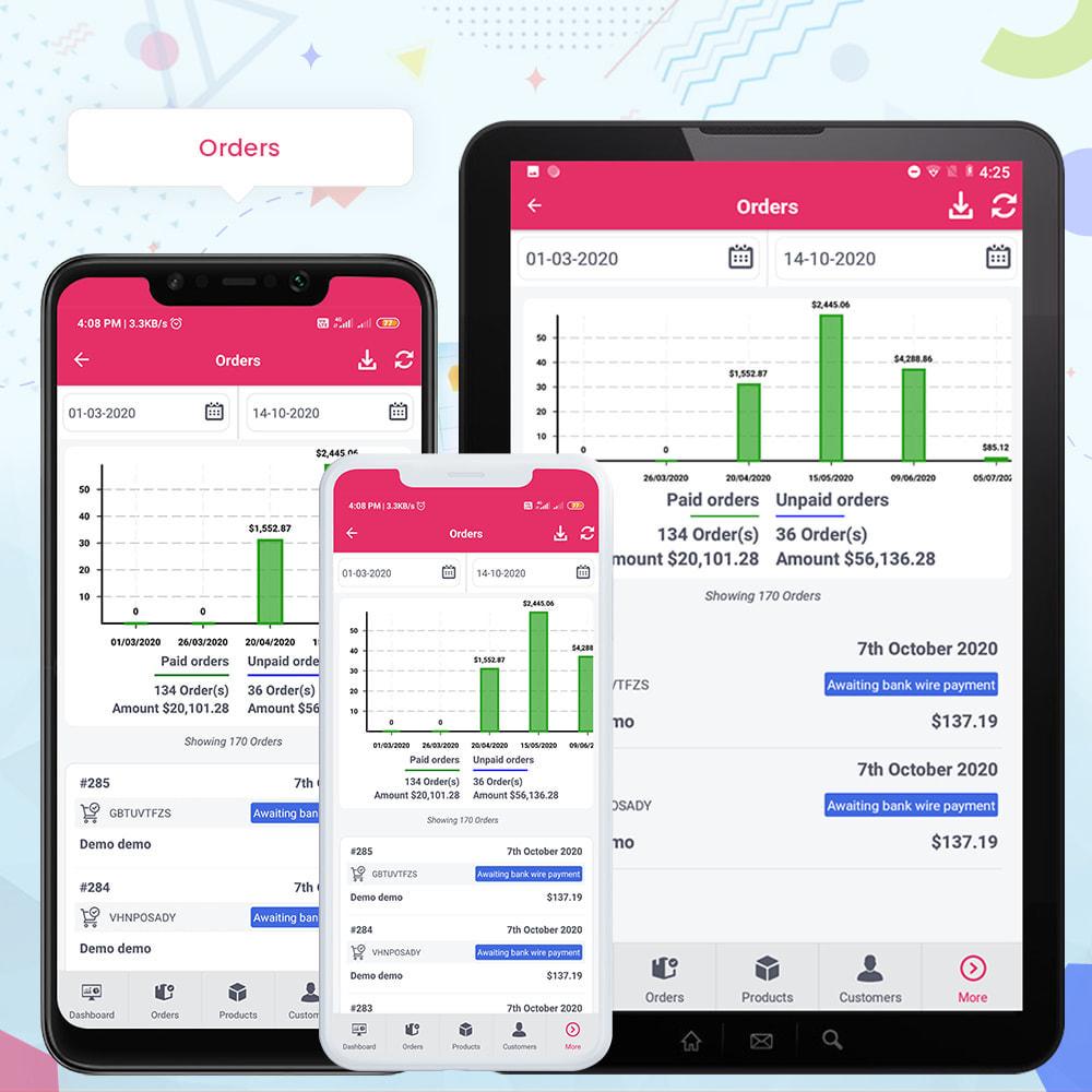module - Мобильный телефон - FE Presta Admin App - Easy to Manage Store Admin - 22