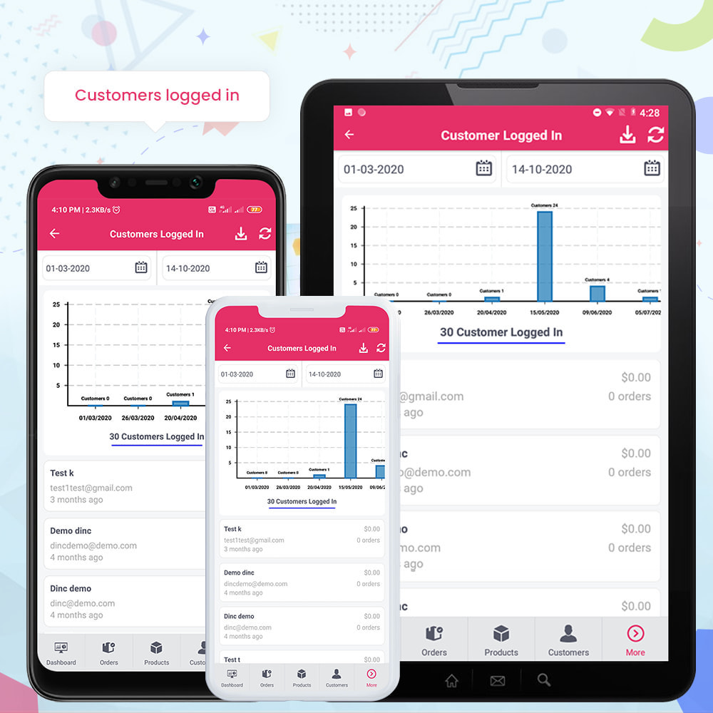 module - Мобильный телефон - FE Presta Admin App - Easy to Manage Store Admin - 24