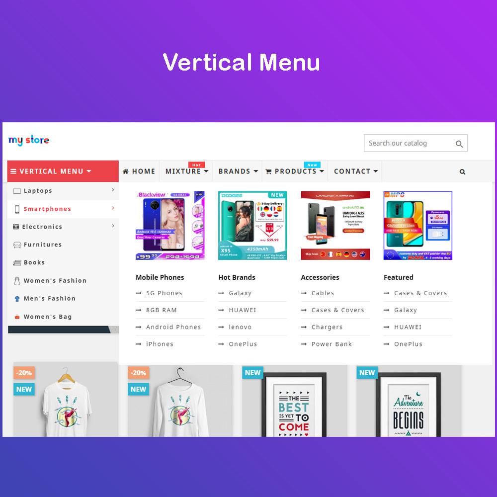 module - Menu - Mega Menu Premium - Design drag/drop Easier - 4