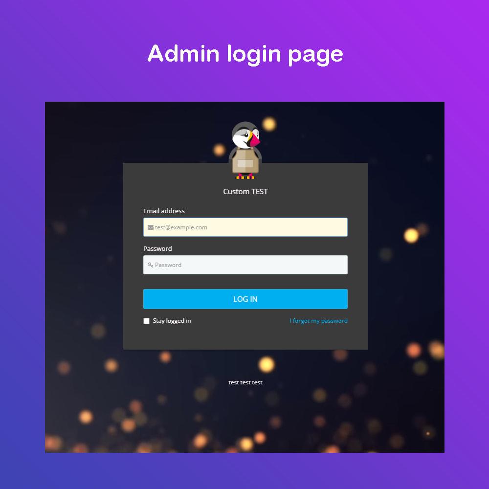module - Tableaux de bord - Personnaliser la page d'administration PRO - 1