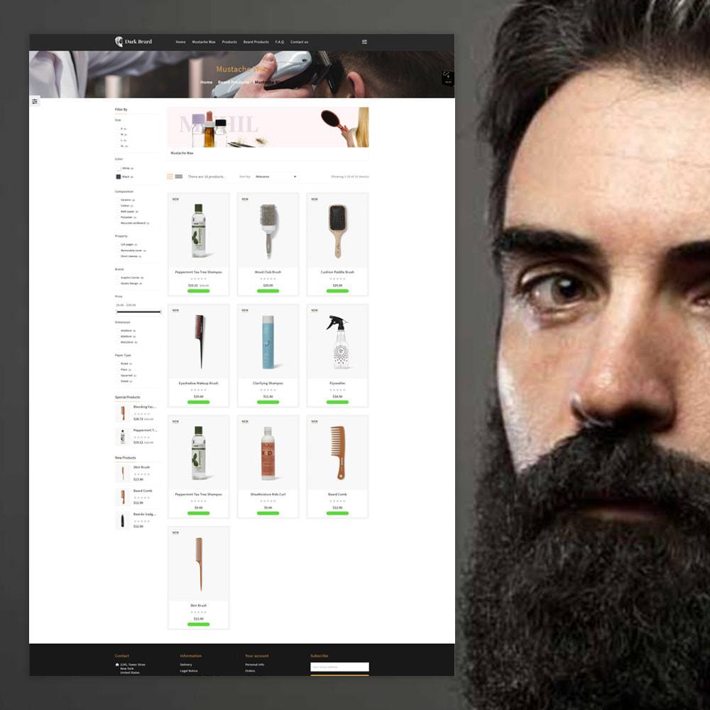theme - Moda & Obuwie - Dark Beard stores - 2