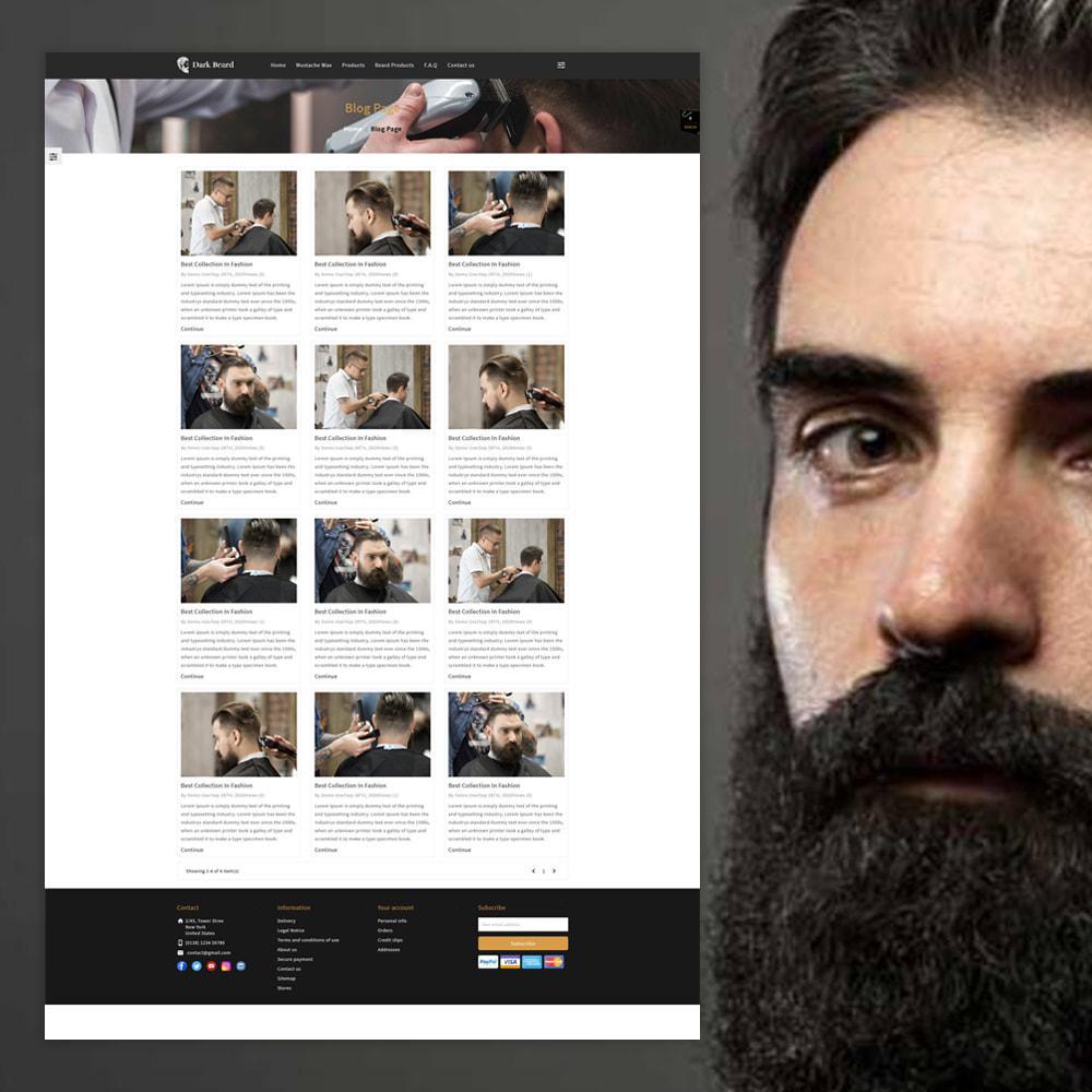 theme - Moda & Obuwie - Dark Beard stores - 5