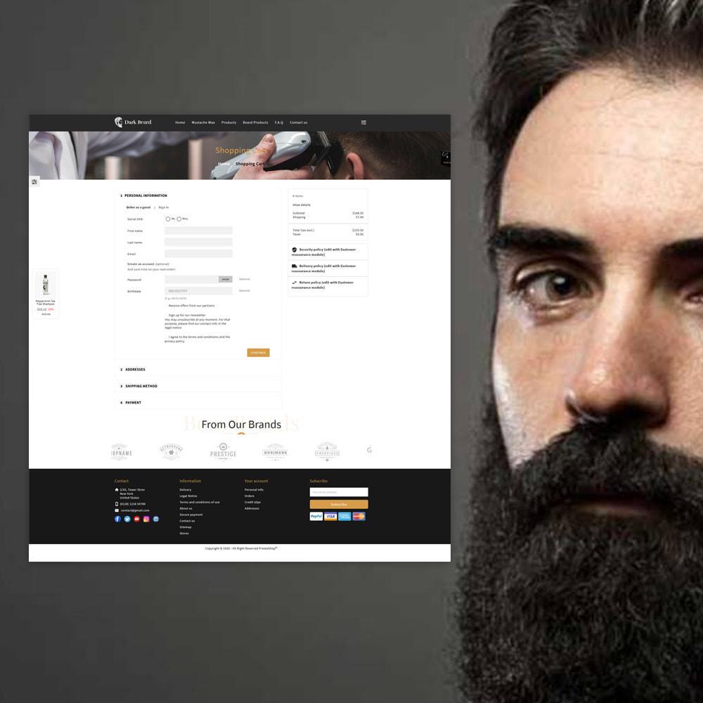 theme - Moda & Obuwie - Dark Beard stores - 7