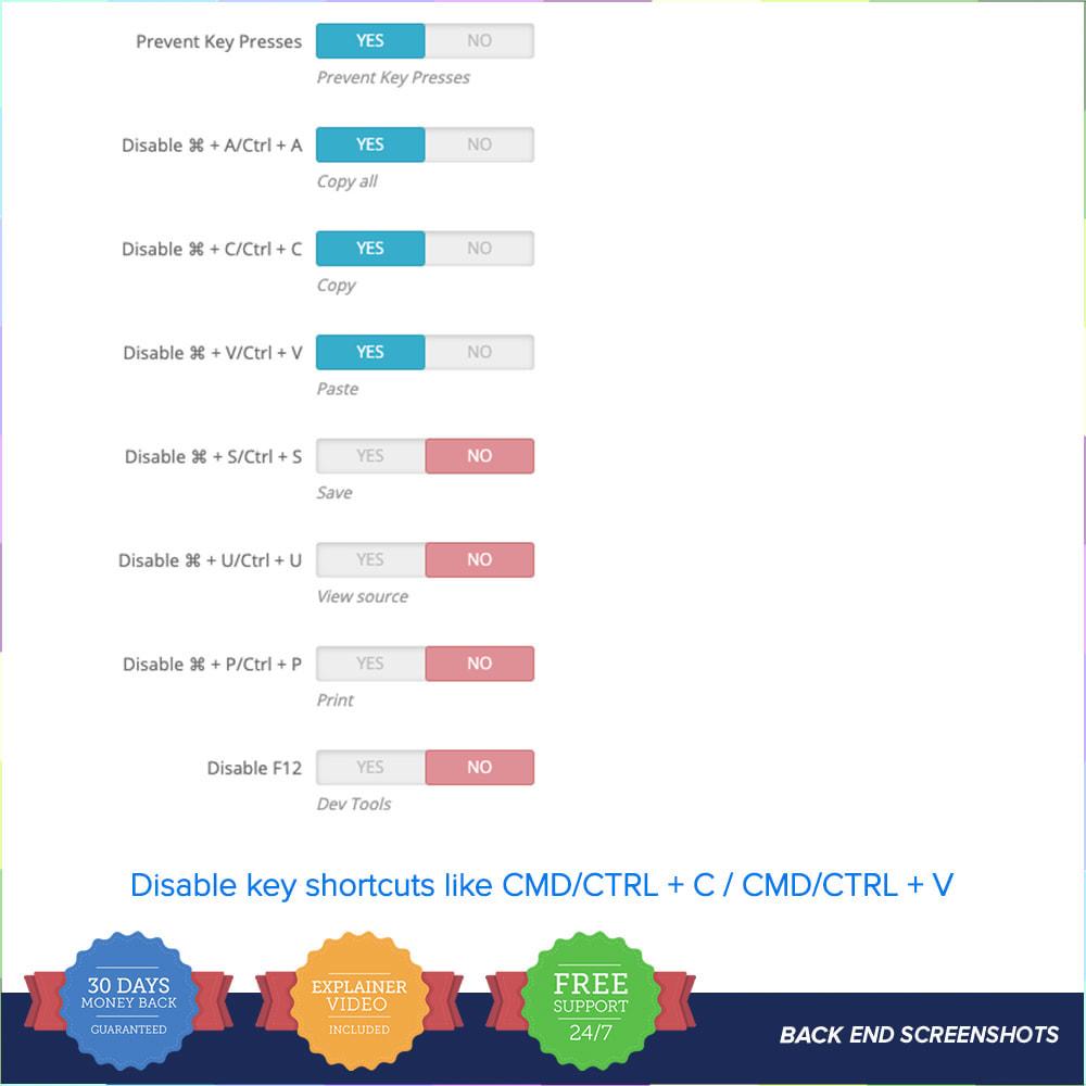 module - Segurança & Acesso - Content Protect PRO - 5