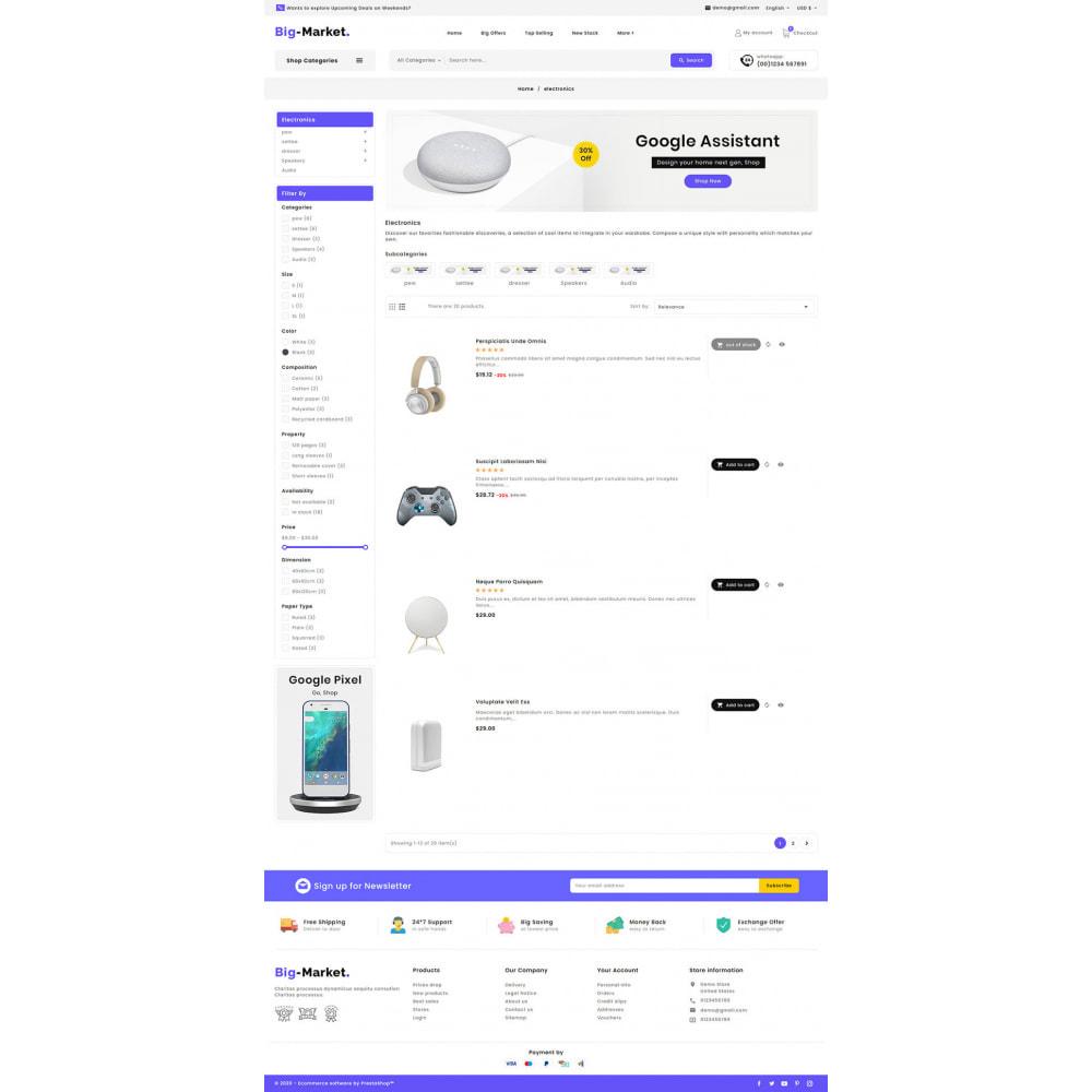 theme - Electronics & Computers - Big Market - Multi-purpose Mega Store - 13
