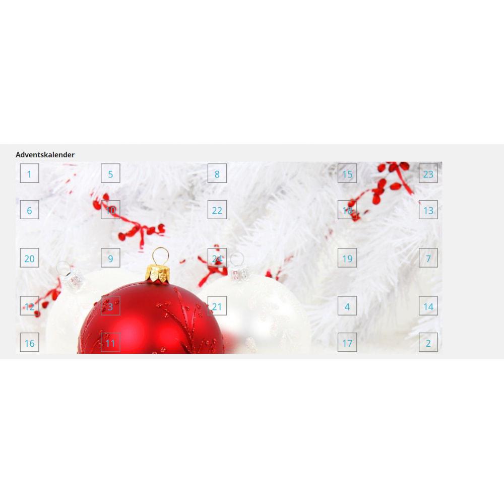 module - Personalização de página - Advent Calendar / Christmas Calendar / Santa Calendar - 10