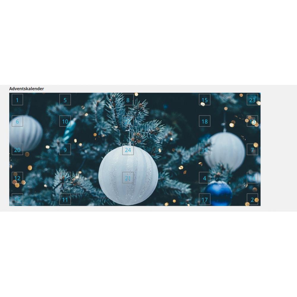 module - Personalização de página - Advent Calendar / Christmas Calendar / Santa Calendar - 13