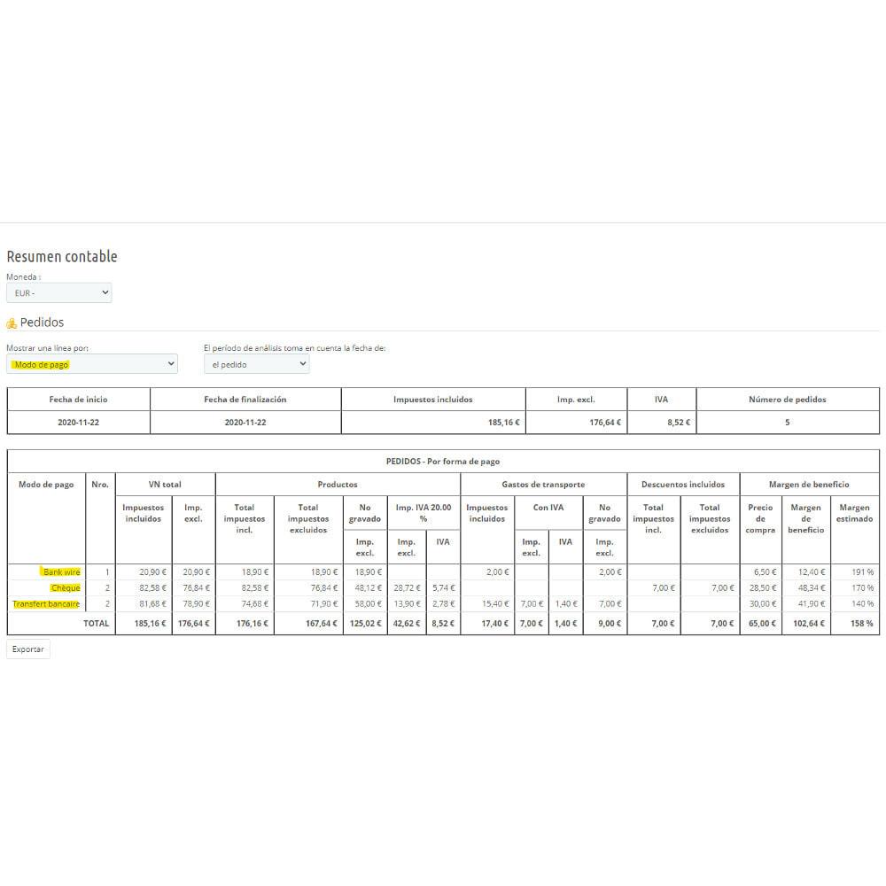 module - Contabilidad y Facturas - Síntesis contable para declaración de IVA - 7