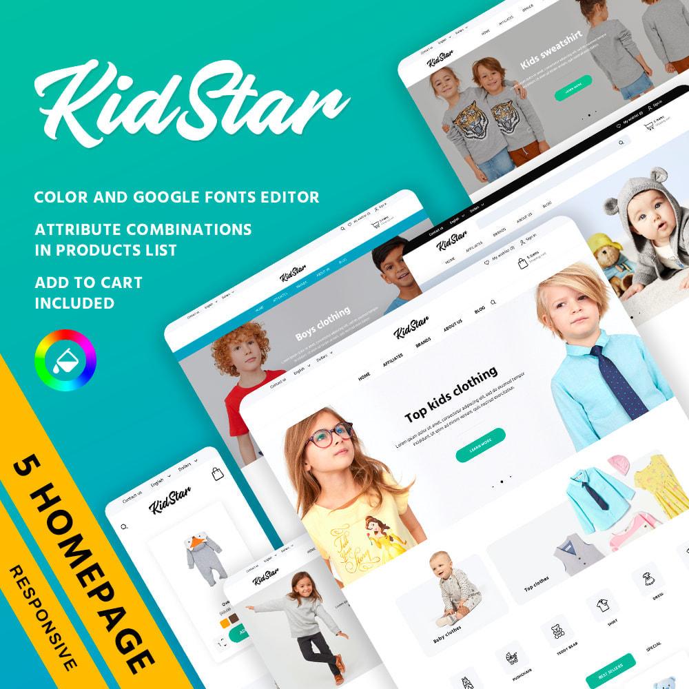 theme - Zabawki & Artykuły dziecięce - KidStar - 1
