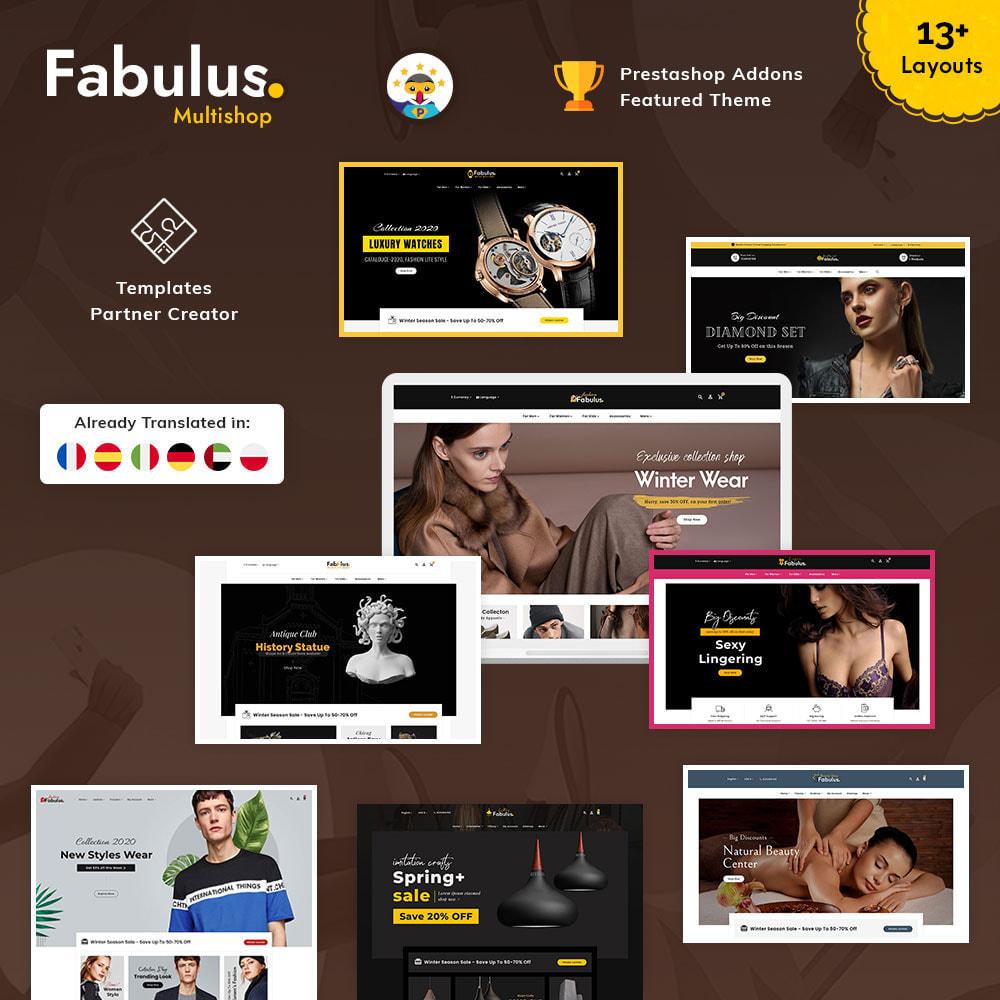 theme - Fashion & Shoes - Fabulus - Multi-purpose Online Store - 1