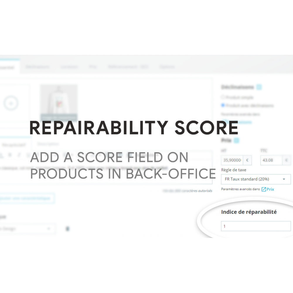 module - Legal - Repairability score for products - 3