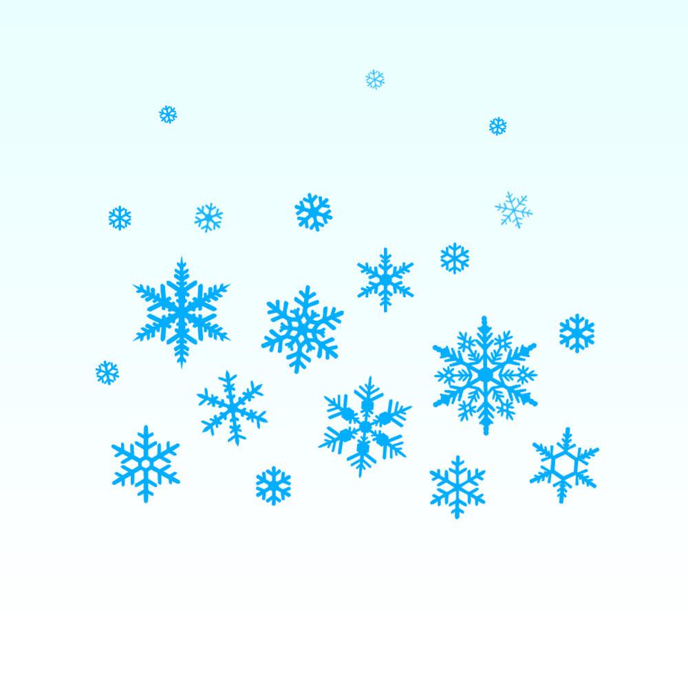 module - Personnalisation de Page - Chutes de neige sur la boutique / nouvel an / Noël - 1