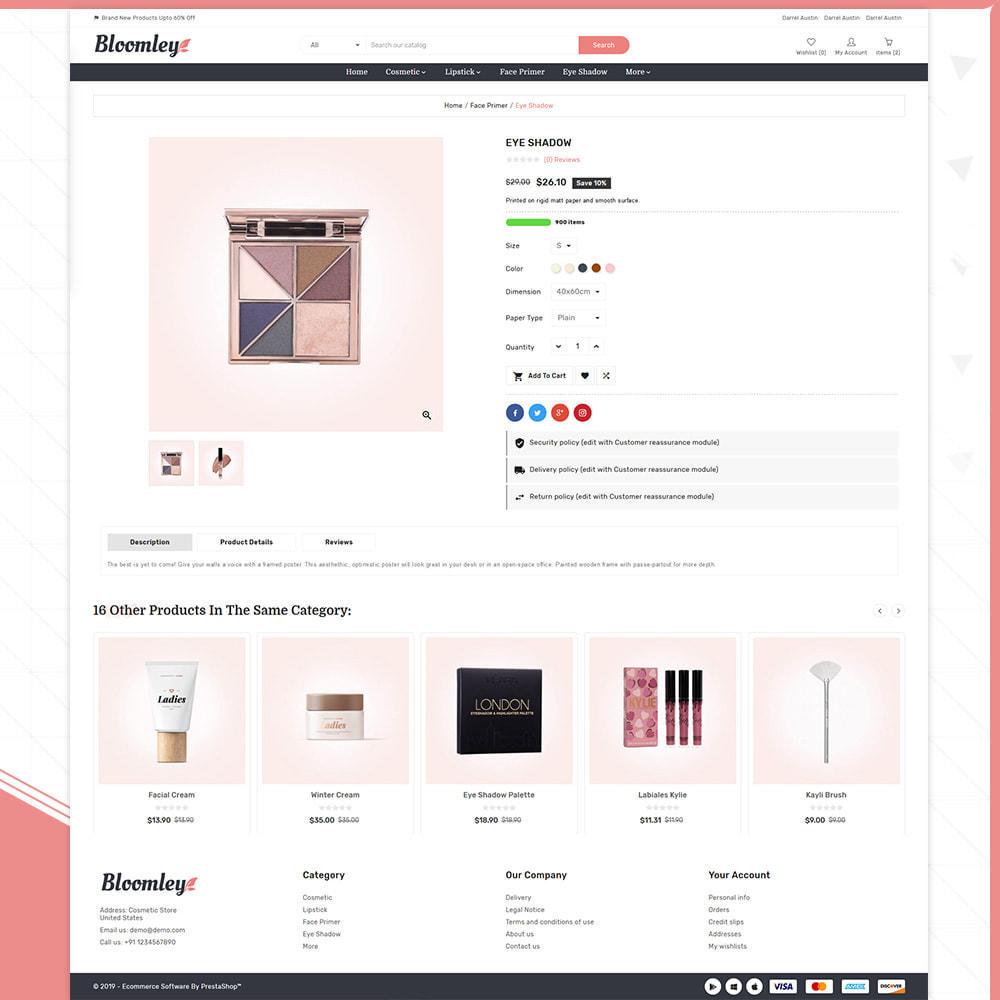 theme - Gesundheit & Schönheit - Cosmatic Bloomley-Cosmatic Shop - 4