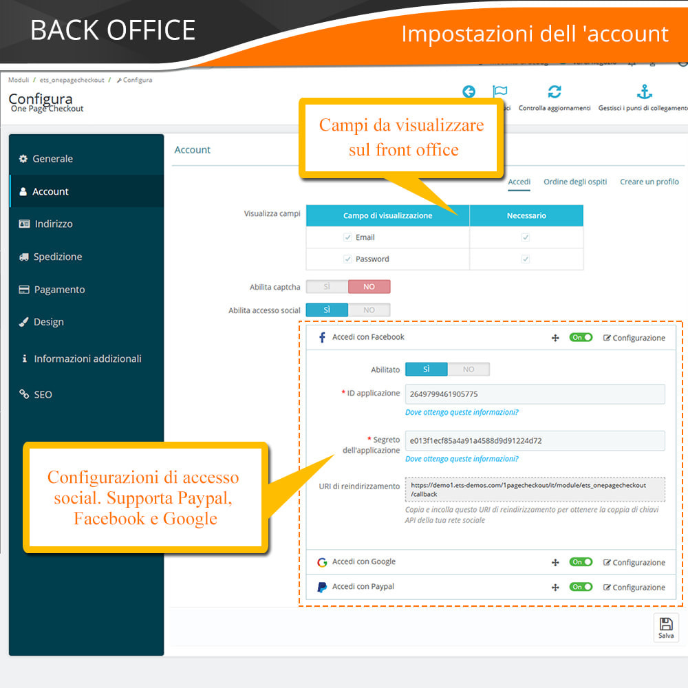 module - Express Checkout - ONE PAGE CHECKOUT - Veloce, Intuitivo & Professionale - 13