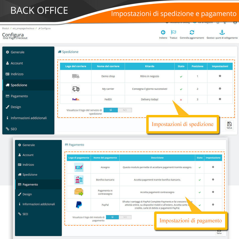 module - Express Checkout - ONE PAGE CHECKOUT - Veloce, Intuitivo & Professionale - 15