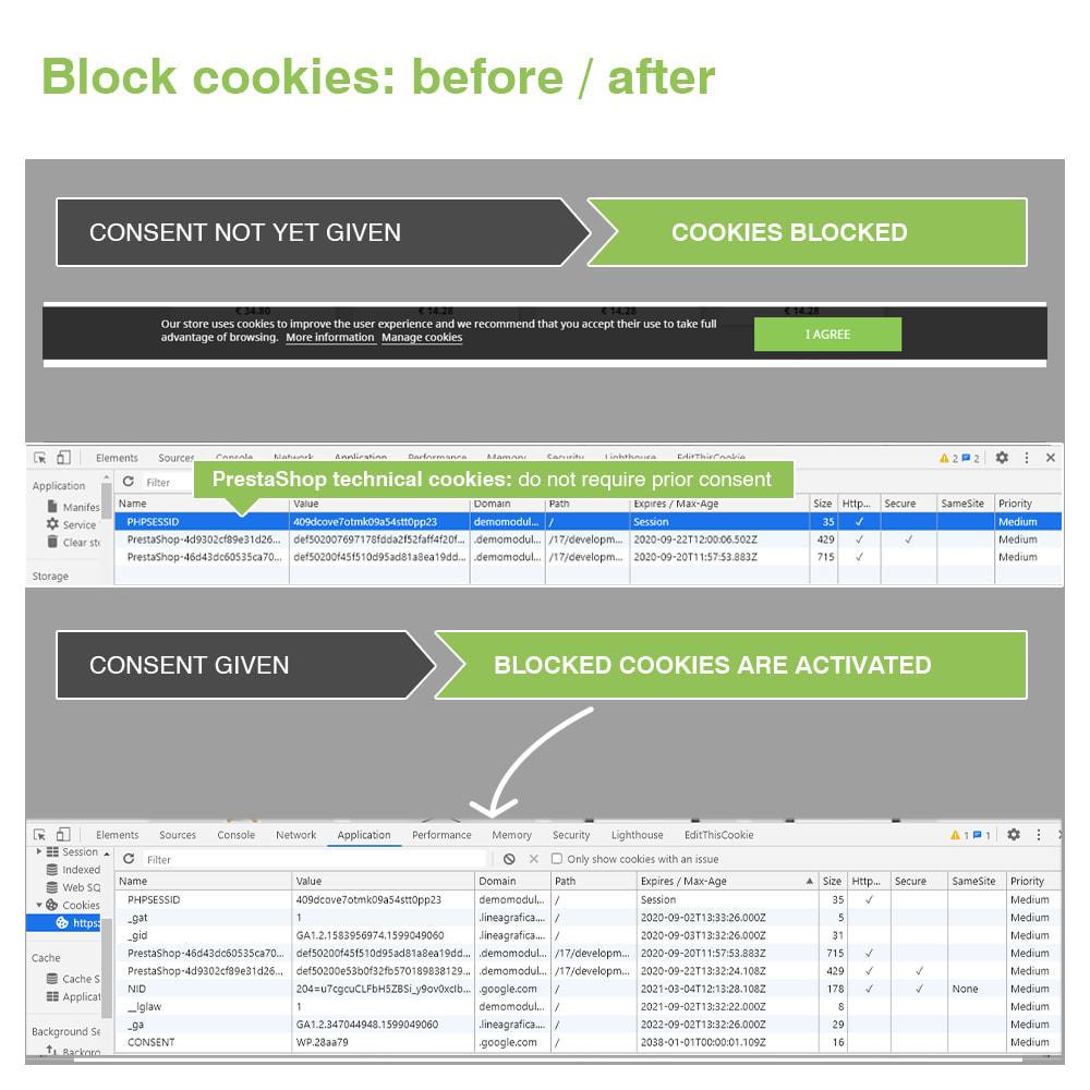 module - Администрация - EU Cookie Law GDPR (Banner + Blocker) - Update 2020 - 18