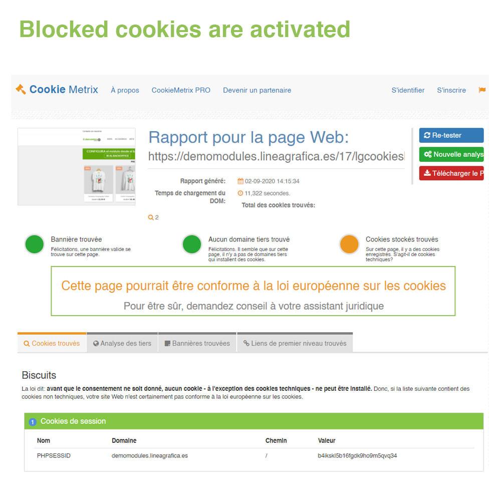 module - Législation - Loi Cookies RGPD (Avis + Bloqueur) - Mise à jour 2021 - 20