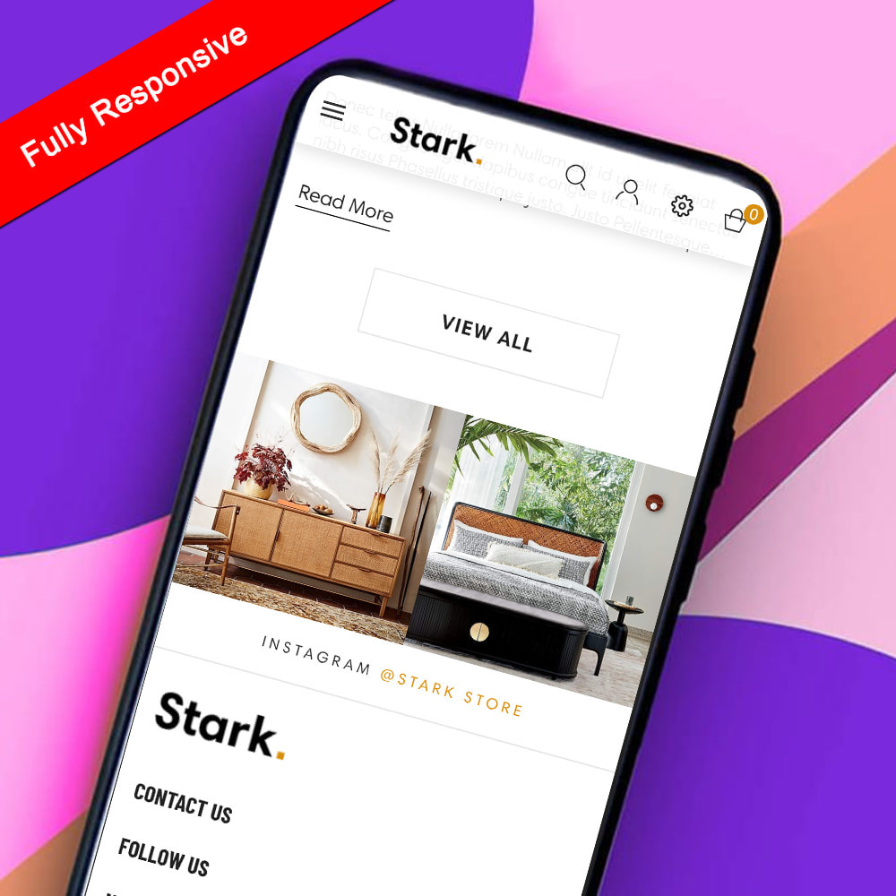 module - Przyciski do logowania  & Connect - Rb Theme Instagram - 3