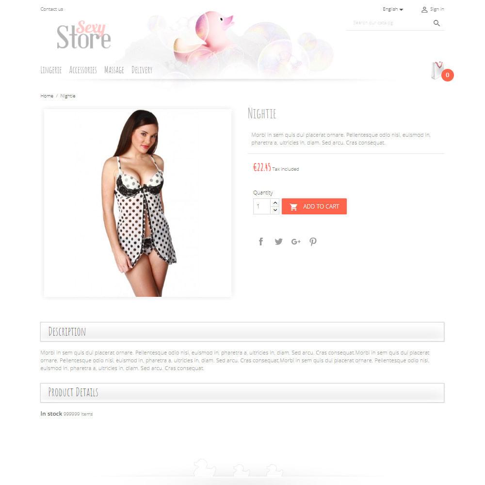 theme - Lingerie & Erwachsene - Sexy Store - 4