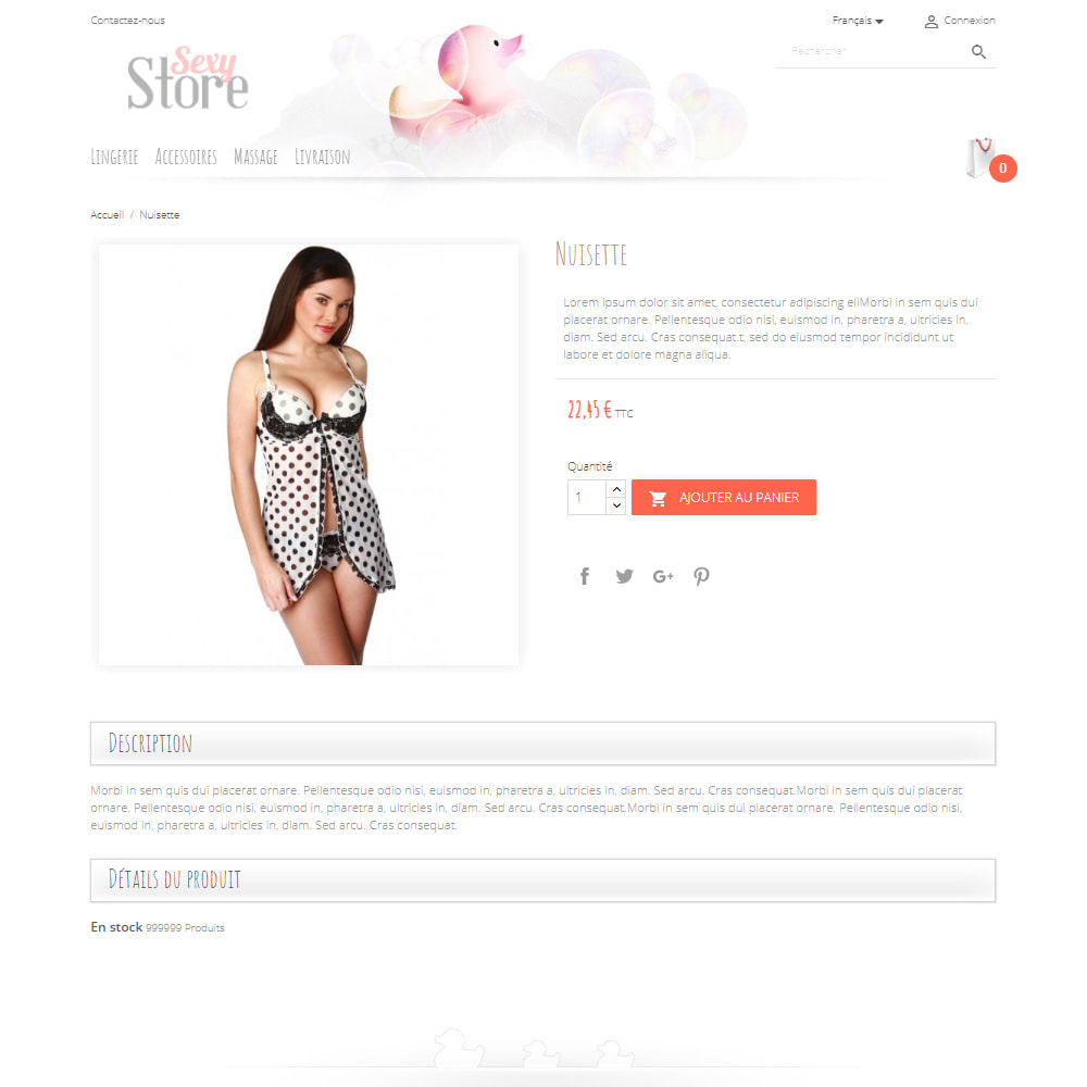theme - Lingerie & Adulte - Sexy Store - 4