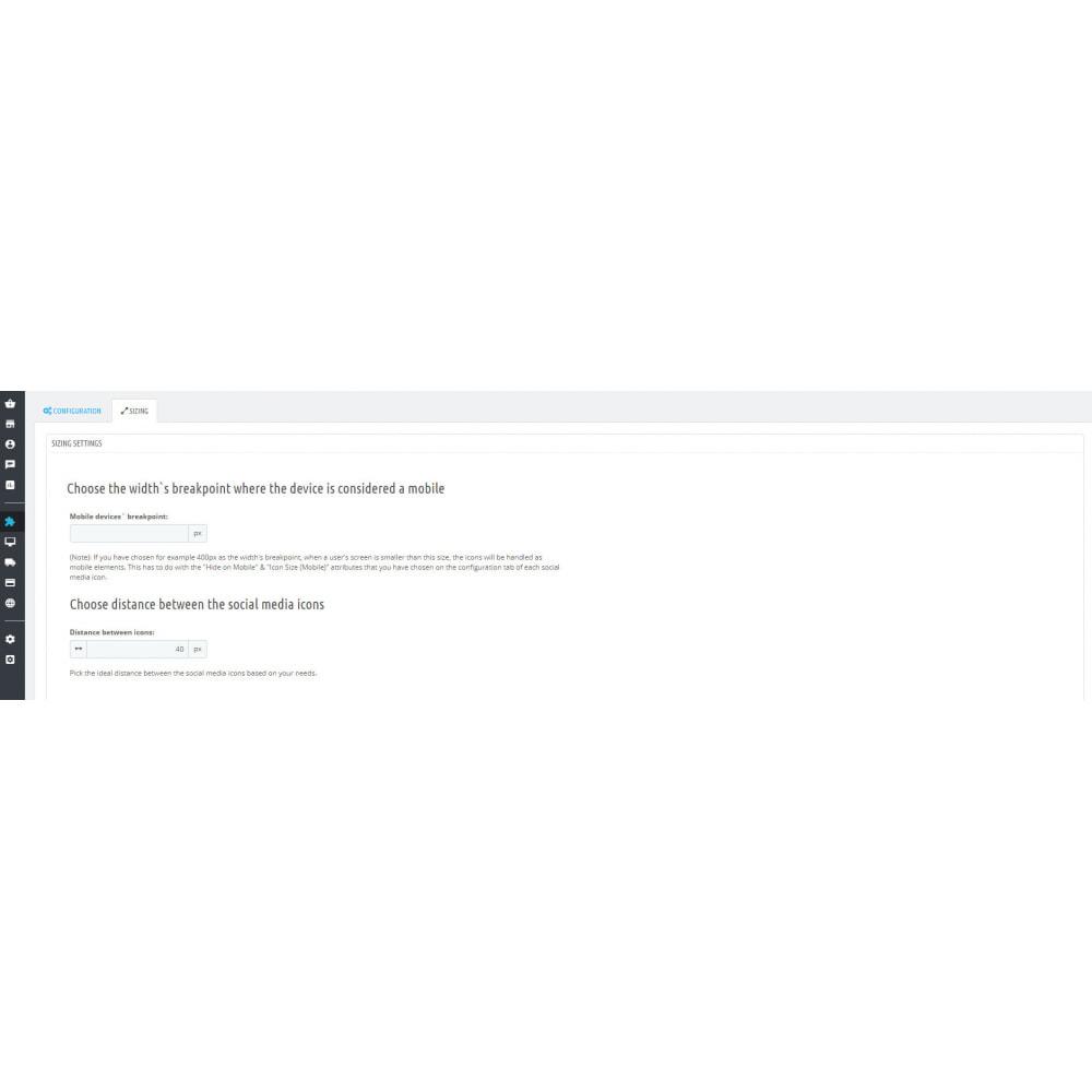 module - Compartir contenidos y Comentarios - Responsive Social Media Buttons (Icons) - 2