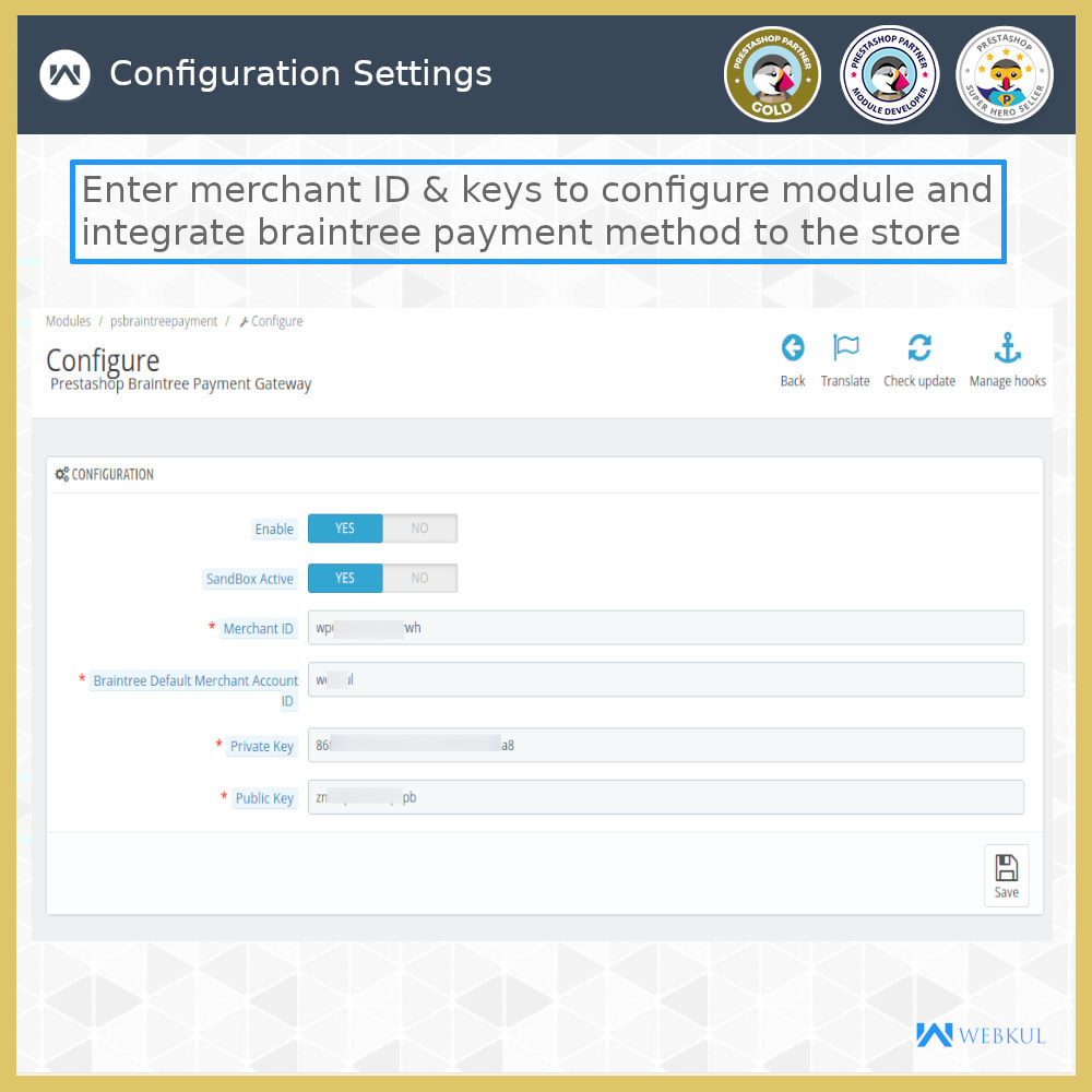 module - Pago con Tarjeta o Carteras digitales - Braintree Payment - Refund and Recurring (SCA-Ready) - 15