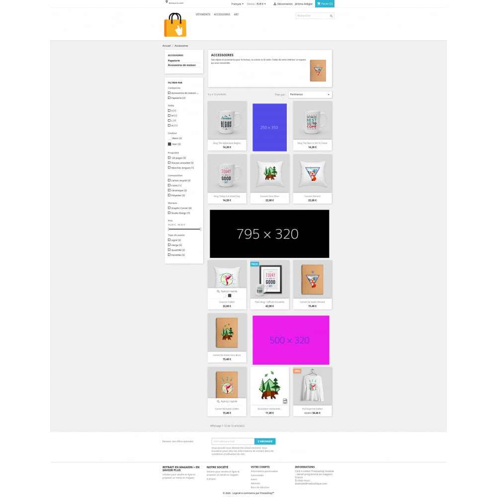 module - Additional Information & Product Tab - INLINE : featured images immersed in products list - 3