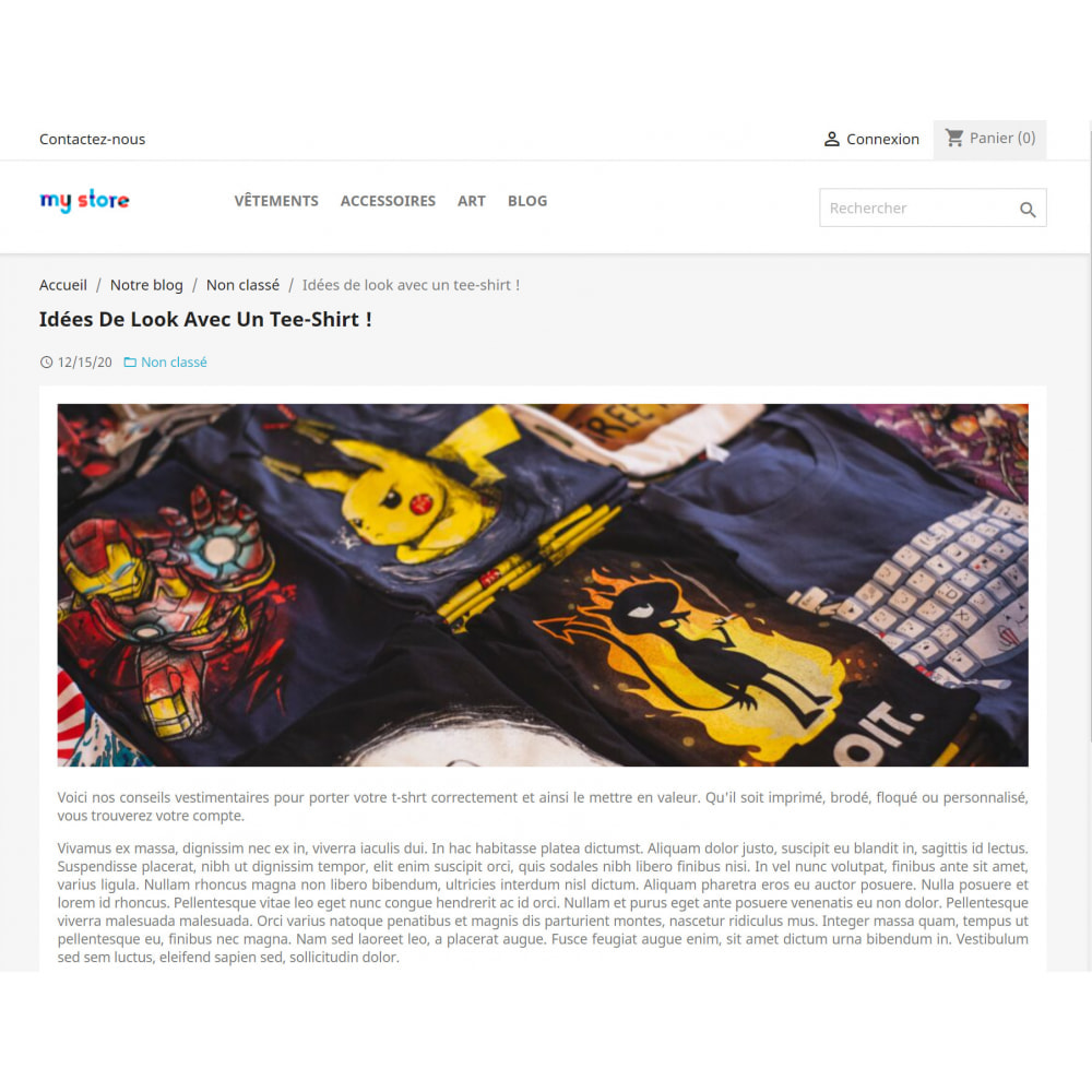 module - Blog, Forum & Actualités - WordPress Intégration - 5