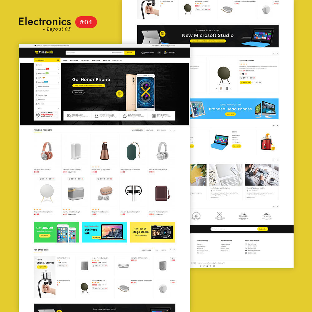 theme - Elektronik & High Tech - Mega Deals - Multi-purpose Mega Store - 5