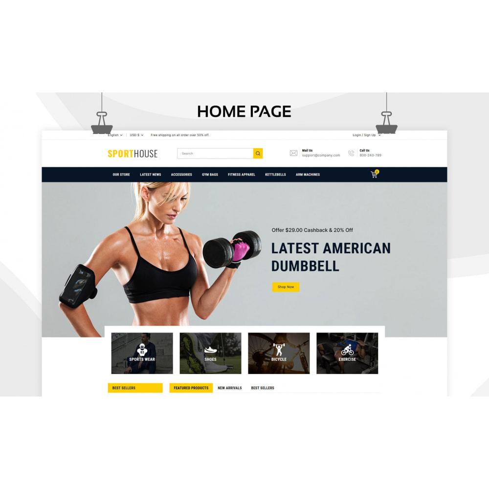 theme - Sport, Loisirs & Voyage - Sport House Magasin de sport en ligne - 4