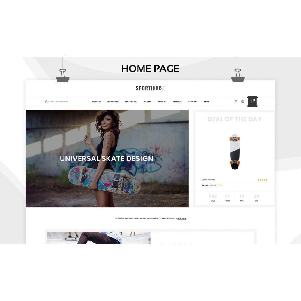 theme - Deportes, Actividades y Viajes - Sport House Tienda de deportes en línea - 7