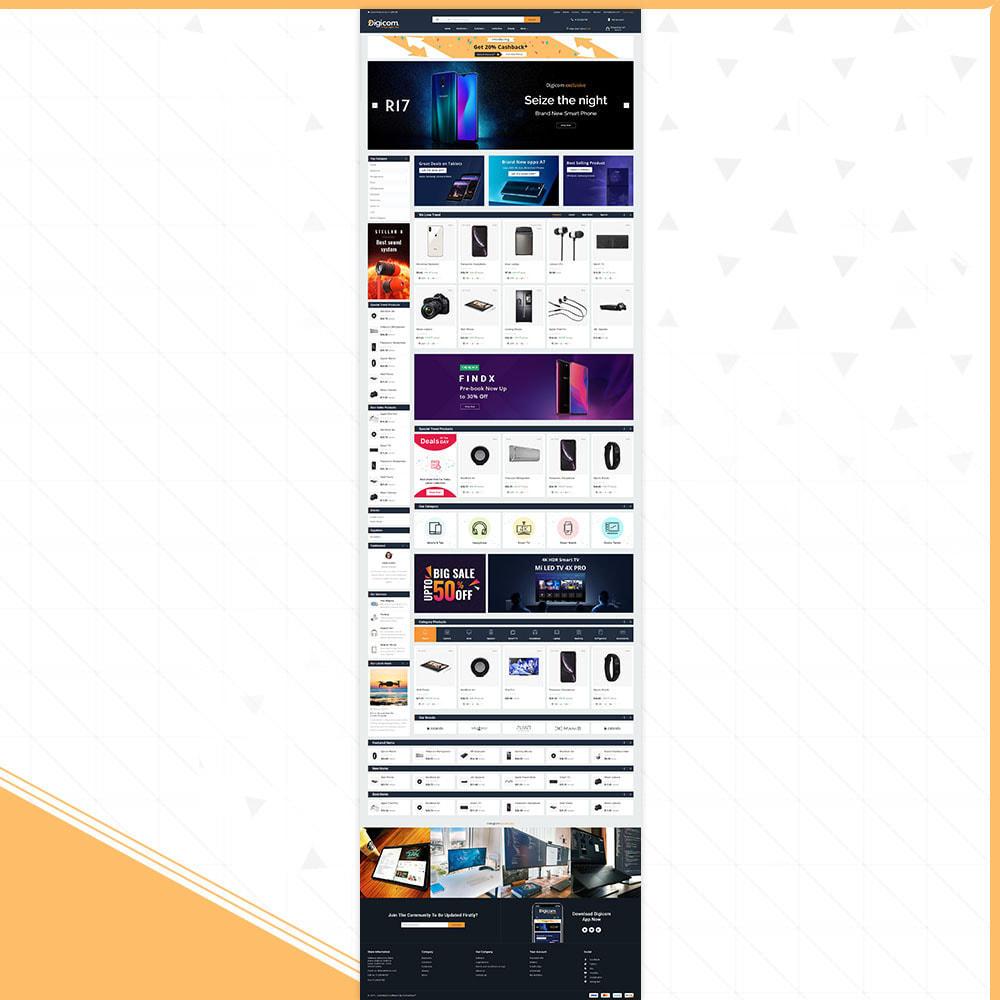 theme - Elektronik & High Tech - Digital Digicom-Electronics Mega Store - 2