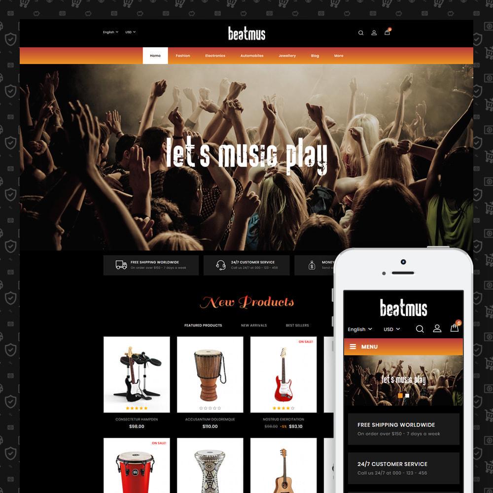 theme - Arte & Cultura - Beatmus - Musical Instrument Store - 1