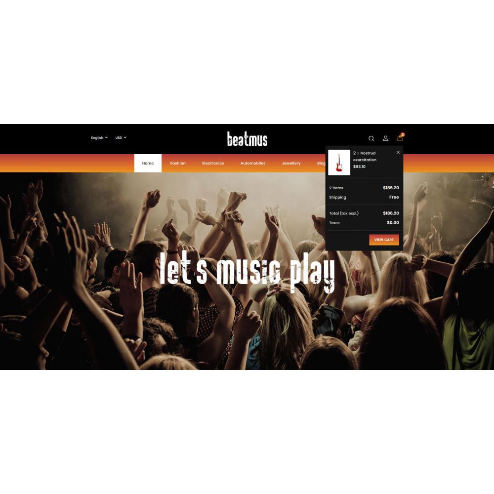 theme - Arte & Cultura - Beatmus - Musical Instrument Store - 8