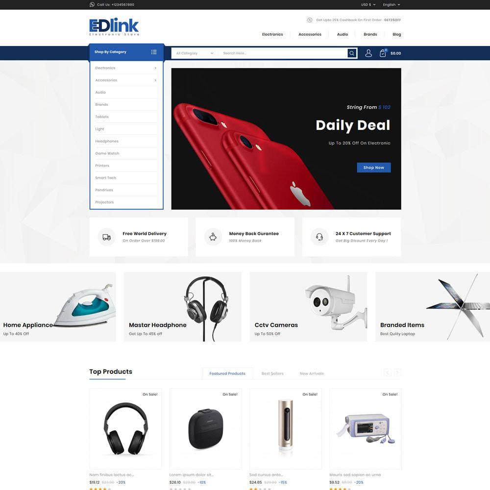 theme - Elektronika & High Tech - Edlink - Electronic Store - 1