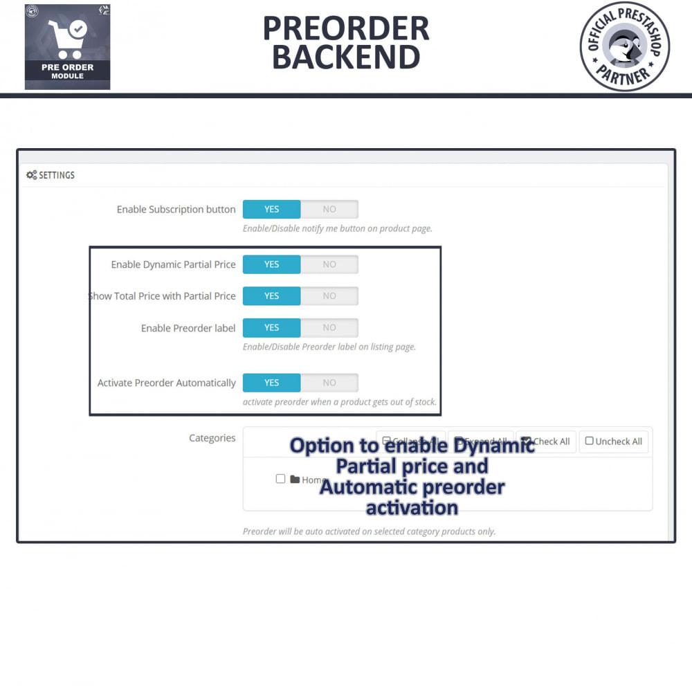 module - Registration & Ordering Process - Pre Order - Advance Booking - 8