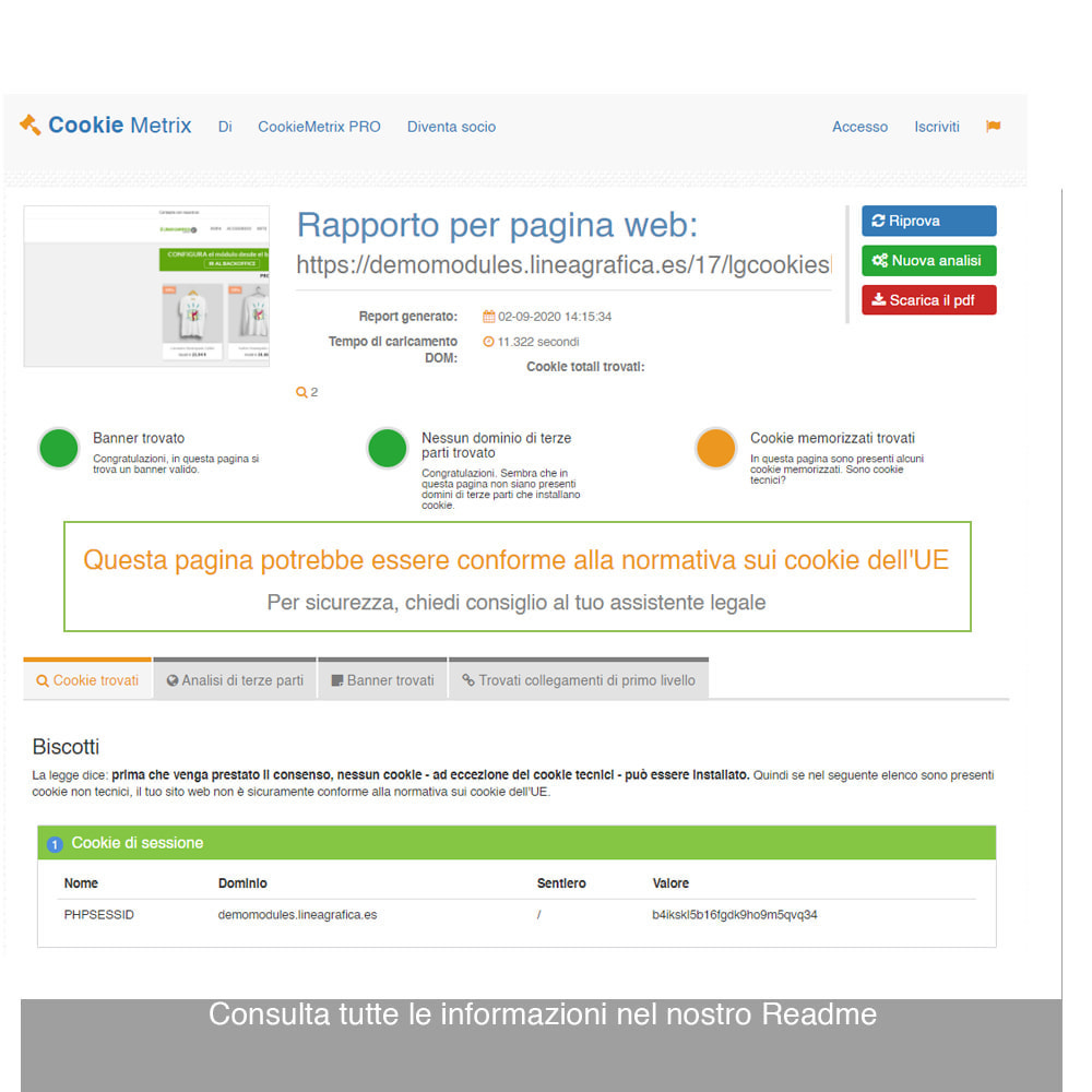 module - Legale (Legge Europea) - Legge Cookies RGPD (Avviso + Blocker) - Upgrade 2020 - 19