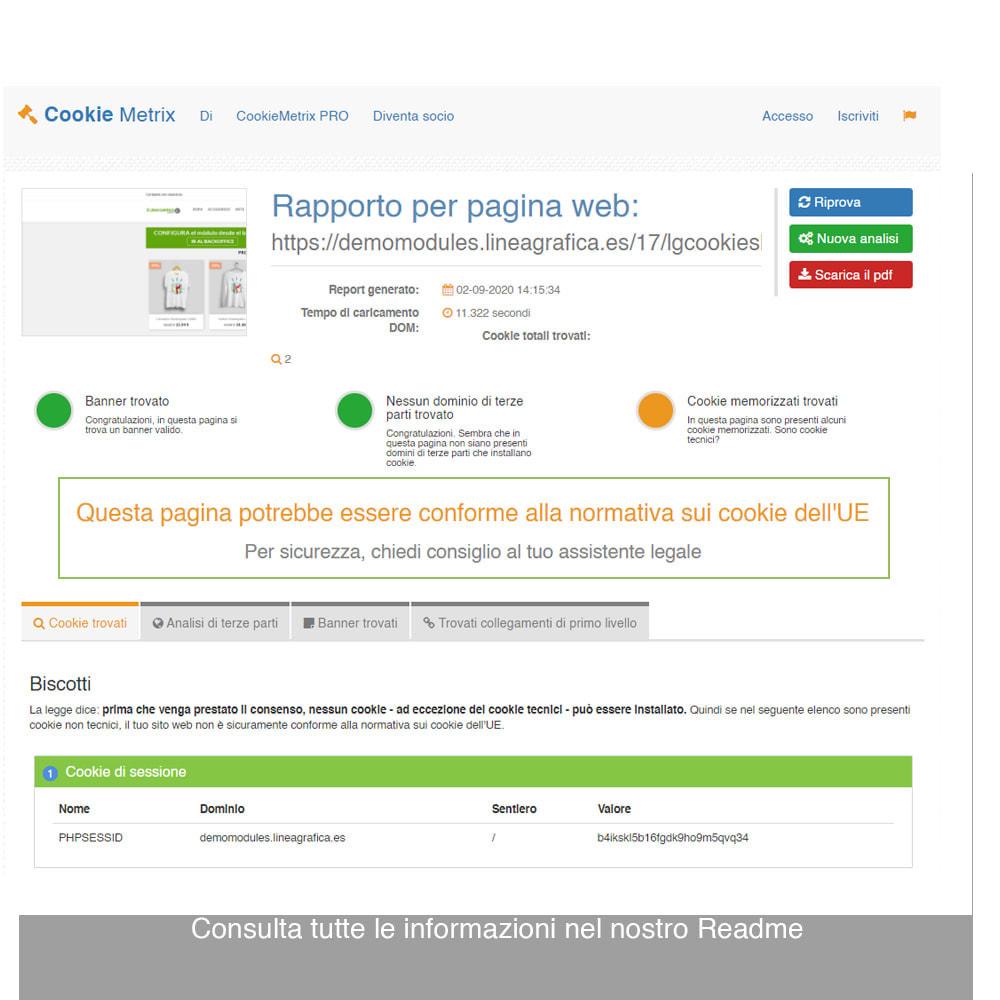 module - Legale (Legge Europea) - Legge Cookies RGPD (Avviso + Blocker) - Upgrade 2021 - 20
