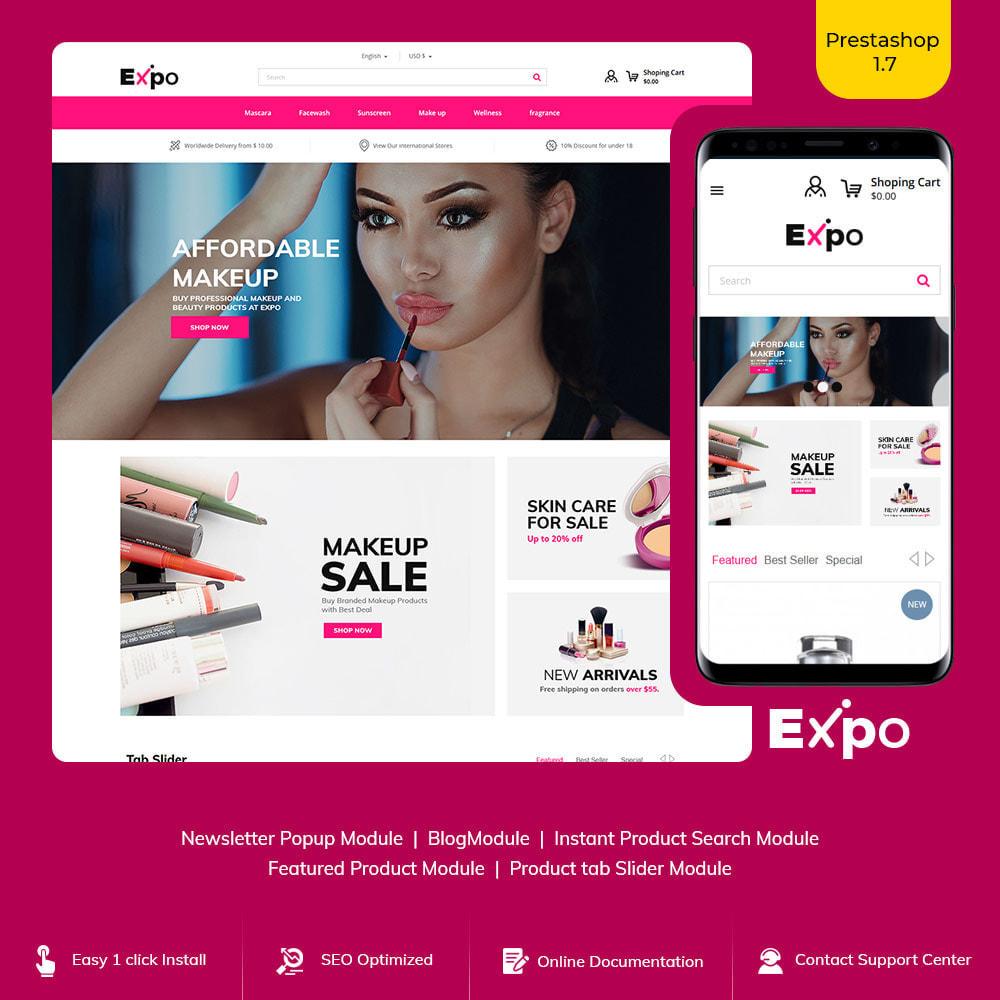 theme - Fashion & Shoes - Makeup Cosmetics - Beauty Gym Store - 1