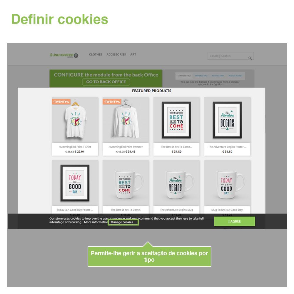 module - Jurídico - Lei Cookies GDPR (bandeira + bloqueador)- Melhoria 2020 - 4