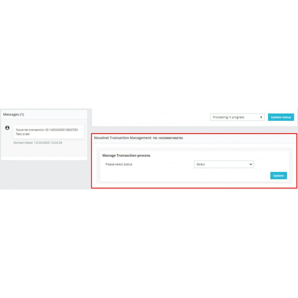 module - Zahlung per Kreditkarte oder Wallet - Novalnet Zahlung - 8