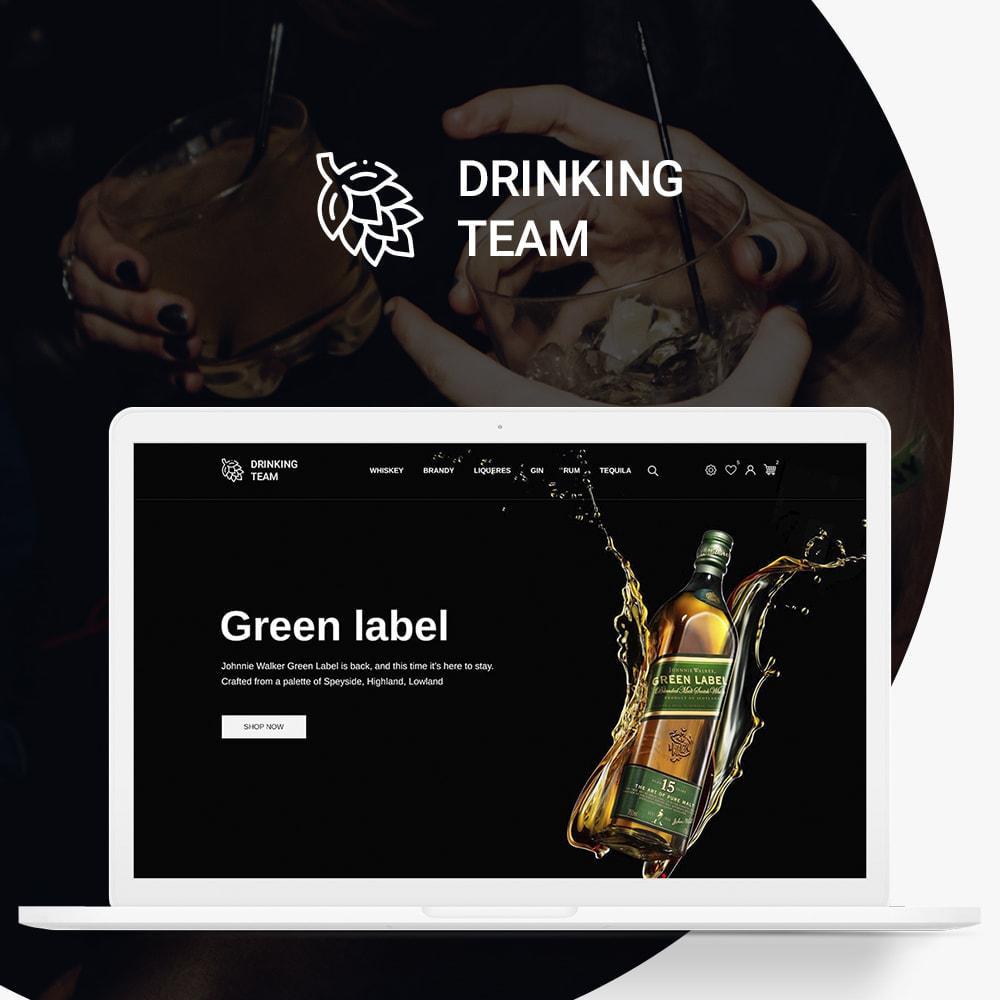 theme - Bebidas y Tabaco - Drinking team Shop - 1