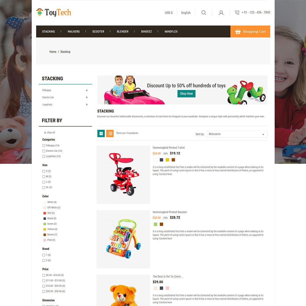 theme - Crianças & Brinquedos - Toy Kids - Dream Baby Teddy Children Store - 4