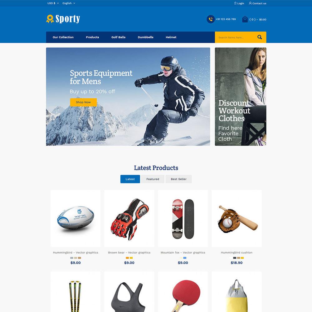 theme - Спорт и Путешествия - Sportswear Fashion - Travel Designer Store - 2