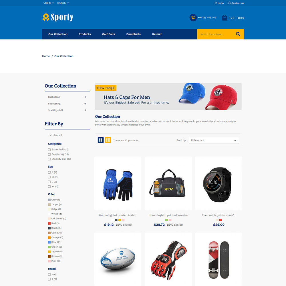 theme - Desporto, Actividades & Viagens - Sportswear Fashion - Travel Designer Store - 3