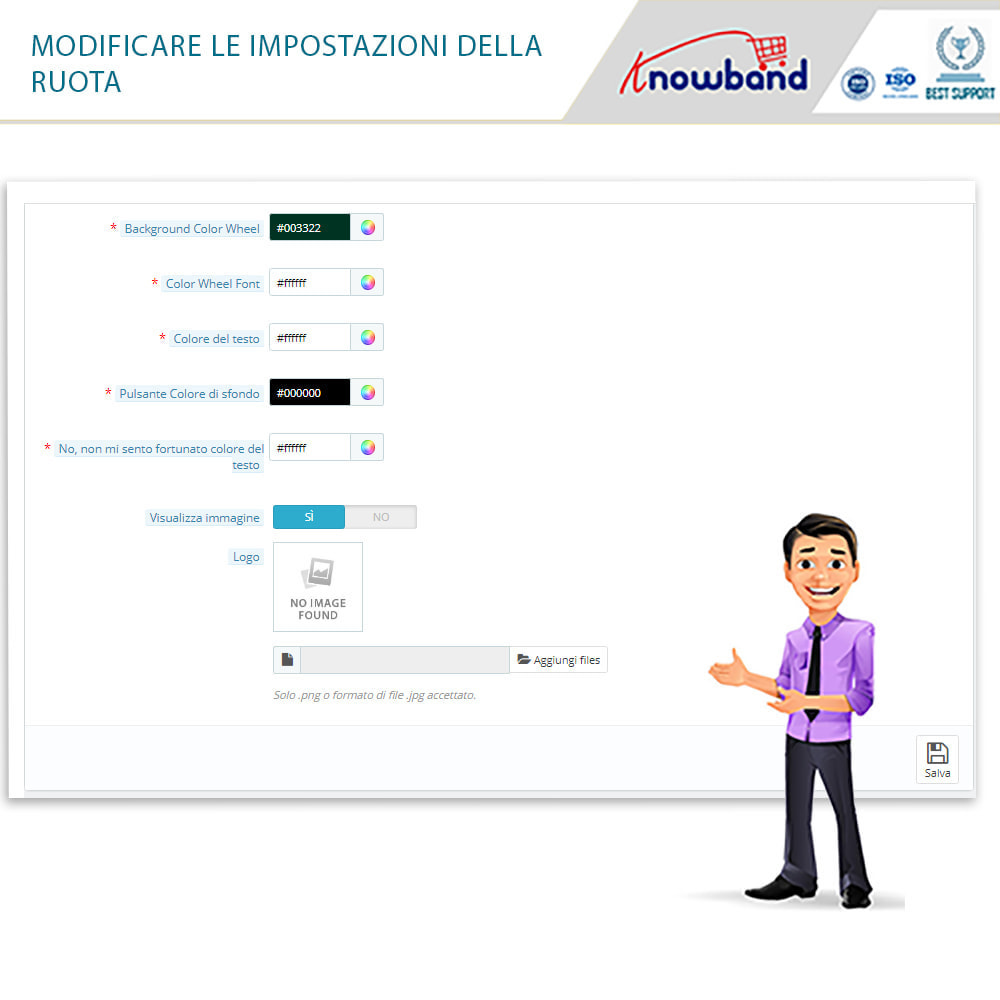 module - Promozioni & Regali - Knowband-Entry,Exit and Subscription Popup-Spin and Win - 2